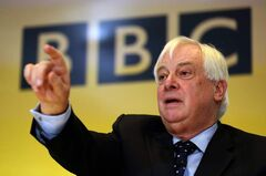 BBC Trust chairman Chris Patten compared the size of the BBC to China's state-run news agency.