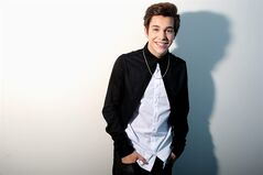 In this Thursday, May 29, 2014 photo, Austin Mahone poses for a portrait in Los Angeles. His EP