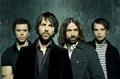The Trews, from the left: drummer Sean Dalton; guitarist and lead vocalist Colin MacDonald; his brother, guitarist John- Angus MacDonald; and bassist Jack Syperek.