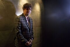 Singer-songwriter Ron Sexsmith poses for a photo in a Toronto hotel as he promotes his new album