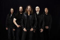 U.S. metal band Dream Theater, including Canadian frontman James LaBrie (centre), is shown in a handout photo. THE CANADIAN PRESS/HO