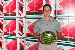 Watermelon producer Brian Arrigo is shown in an undated photo. THE CANADIAN PRESS/ho-Michael A Caronchi