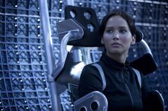Jennifer Lawrence is pictured in a scene from