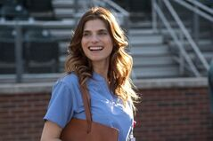 Lake Bell is shown in a scene from Disney's