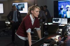 Katherine Heigl portrays CIA agent Charleston Tucker in NBC's new series,