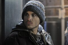 Actor Kevin Zegers is shown in a scene from the Canadian horror film