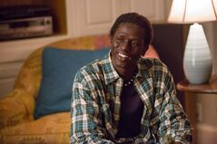 "Emmanuel Jal as Paul in the drama ""The Good Lie,."" THE CANADIAN PRESS/ho-Alcon Entertainment - Bob Mahoney"