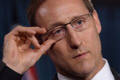Justice Minister Peter MacKay addresses a news conference on Parliament Hill in Ottawa on Wednesday, June 4, 2014. Two provincial justice ministers took a swipe at their federal counterpart Wednesday, denouncing MacKay's recent comments about female judges as outdated and inaccurate.THE CANADIAN PRESS/Sean Kilpatrick