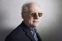 Filmmaker Barry Levinson poses for a photo as he promotes the movie