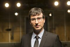 This undated image released by HBO shows host John Oliver of