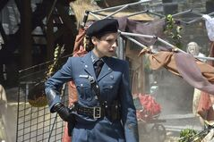 Canadian actress Anna Hopkins plays Jessica Berlin Rai in Showcase sci-fi series Defiance, returning for a second season Thursday. THE CANADIAN PRESS/HO, Bell Media-Ben Mark Holzberg
