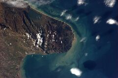 Canadian astronaut Chris Hadfield shot this photo of the Italian peninsula jutting into the Adriatic Sea.
