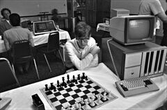 Patrick Riester as Peter Bishton in Computer Chess.