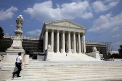 The U.S. Supreme Court is seen June 20, 2012 in Washington. THE CANADIAN PRESS/AP, Alex Brandon