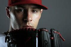 FILE - This Feb. 19, 2014 file photo shows Arizona Diamondbacks starting pitcher Patrick Corbin posed during photo day in Scottsdale, Ariz. More than a dozen major league pitchers have needed Tommy John surgery this year, a group that includes All-Stars Patrick Corbin, Josh Johnson and Matt Moore, joining an illustrious group that includes Chris Carpenter (2007), Stephen Strasburg (2010), Adam Wainwright (2011) and Matt Harvey (2013). (AP Photo/ Gregory Bull, File`)