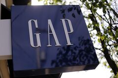 This May 14, 2014 photo shows the sign on a GAP store in the Shadyside section of Pittsburgh. On Thursday, Aug. 21, 2014, Gap Inc. is scheduled to report quarterly financial results after the market closes. (AP Photo/Gene J. Puskar)