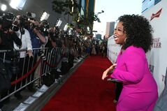 Oprah Winfrey appears at the Los Angeles Premiere of