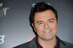 Seth MacFarlane arrives at Variety Power of Comedy at Avalon Hollywood on Saturday, Nov. 17, 2012, in Los Angeles. (Photo by Richard Shotwell/Invision/AP)