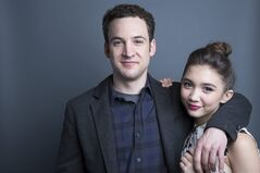 In this Monday, June 23, 2014 photo, actors Ben Savage, left, and Rowan Blanchard, from the upcoming Disney Channel series