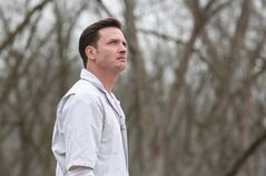 "Canadian-born actor Aden Young stars as Daniel Holden, a man who returns to his hometown after spending 19 years on death row for killing his high school girlfriend, in ""Rectify."" THE CANADIAN PRESS/ho-SundanceTV-Tina Rowden"