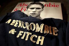 In this Nov. 14, 2011 photo, Abercrombie & Fitch clothing is displayed at a store in Phoenix. THE CANADIAN PRESS/AP, Ross D. Franklin