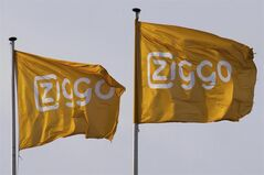 In this Jan. 7, 2014 photo Ziggo flag flies on the headquarters of Dutch cable and broadband provider in Utrecht, Netherlands. THE CANADIAN PRESS/AP, Peter Dejong