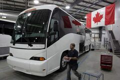Motor Coach Industries has announced 190 layoffs to come before the end of the year.