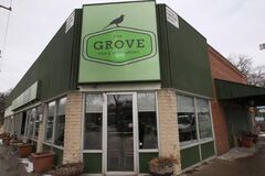 The Grove  Pub & Restaurant at 164 Stafford, former home of Tubby's Pizza.