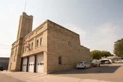 Fire hall on Berry Street