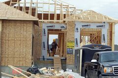 Housing starts in Winnipeg rose in March.