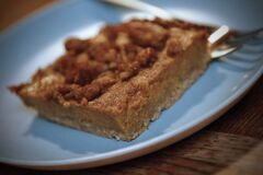 Old World  pumpkin squares take the pastry-making out of pumpkin pie.