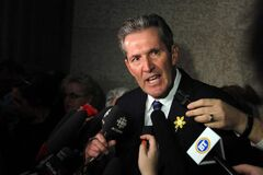 Opposition leader Brian Pallister says spending cuts, not a PST hike, are what's called for.