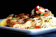 Santa Ana Pizzeria on St. Mary's Road serves up some delicious popular dishes like salmon with linguine.