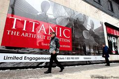 Titanic: The Artifact Exhibition is currently on display at the MTS Centre Exhibition Hall on Portage Avenue. The photos prompt a deeper question for Longhurst.