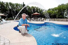 Garry McBurney wanted to create a swimming pool ... but not just any pool.
