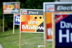 Signs show a heated battle is on in Elmwood. Whichever party you support, just be sure to get out and vote.