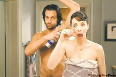 Whitney Cummings with Chris D'Elia as her live-in boyfriend.