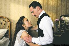 Keira Knightley and MIchael Fassbender in A Dangerous Method.