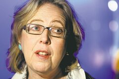 Green party Leader Elizabeth May could find herself in trouble come next election when ridings are redistributed.