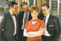 Mad Men's Joan Holloway knows all about the fine art of flirting.