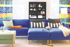 This undated image provided by IKEA shows an IKEA room design for 2008.