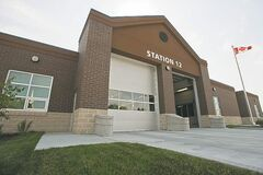 The new fire-paramedic Station No. 12 at 1780 Taylor Avenue.