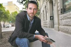 Joseph Ranseth loves downtown living and was the first guest blogger on a new website promoting it.