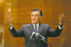 Republican presidential candidate Mitt Romney refuses to bow to critics by releasing more than two years in tax returns.