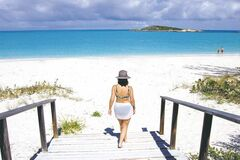 The Tropic of Cancer Beach in the Bahamas is a slice of paradise that has to be experienced.