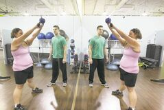 Tammy Ducharme has lost over 100 pounds with the help of personal trainer Jordan Cieciwa.