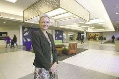 Sandra Hagenaars says the Grant Park Shopping Centre facelift is already proving to be a 'good move.'