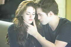 Kristen Stewart, Robert Pattinson in The Twilight Saga: Breaking Dawn Part 2.