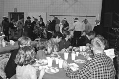 The annual community Christmas dinner at École Powerview School is a symbol of the community's enduring strength when Tembec closed its paper mill, a major source of employment in the Powerview-Pine Falls economy..