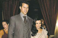 Kim Kardashian and Kris Humphries.